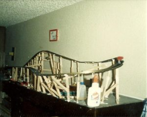 The Wild One - Miniature Roller Coaster