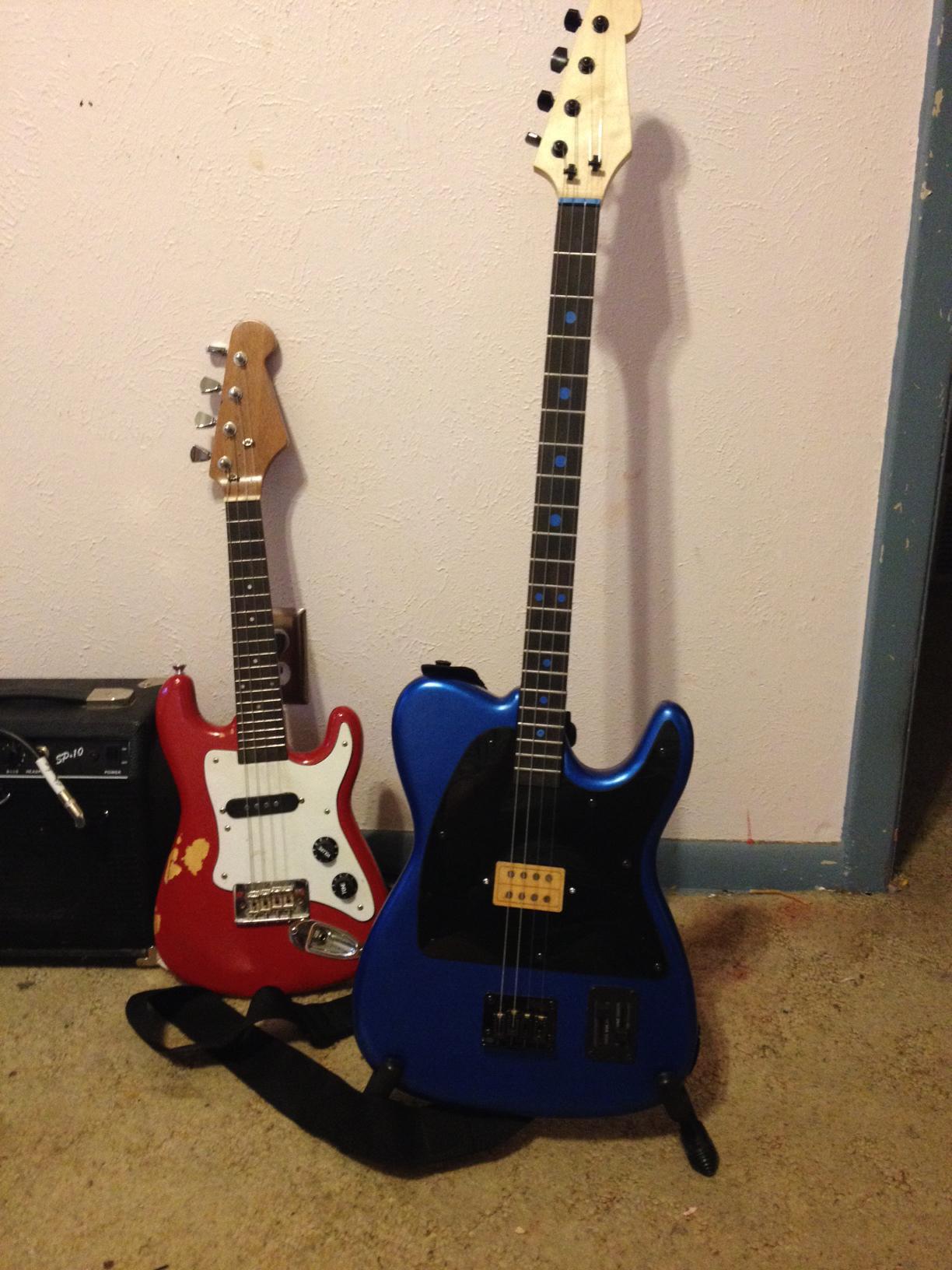 Four String Fender Telecaster Clone