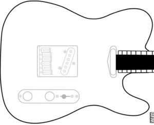 telecaster template